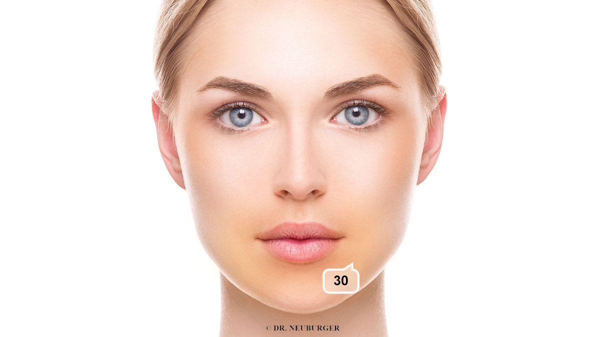 Verfärbung: grauschmutzig oder aschgrau im Gesicht aschfahl